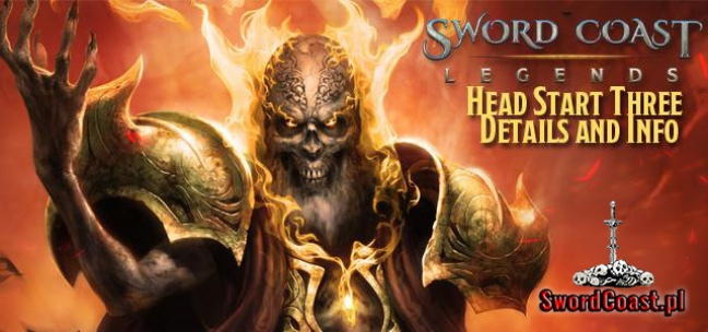 Sword Coast Legends - Head Start 3 już 25 Września 2015!