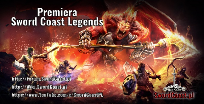 Premiera Sword Coast Legends i Lista Poprawek (Patch Notes) | 20.10.2015