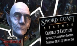 Stream z Twitcha: Tworzenie Postaci w Sword Coast Legends